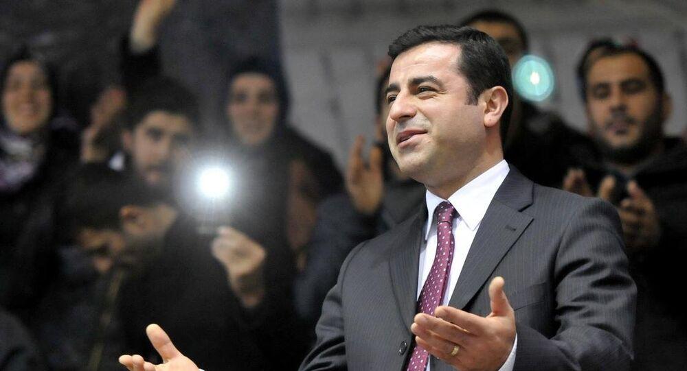 HDP Eşbaşkanı Selahattin Demirtaş