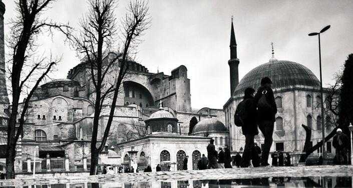 İstanbul'da Ayasofya Müzesi