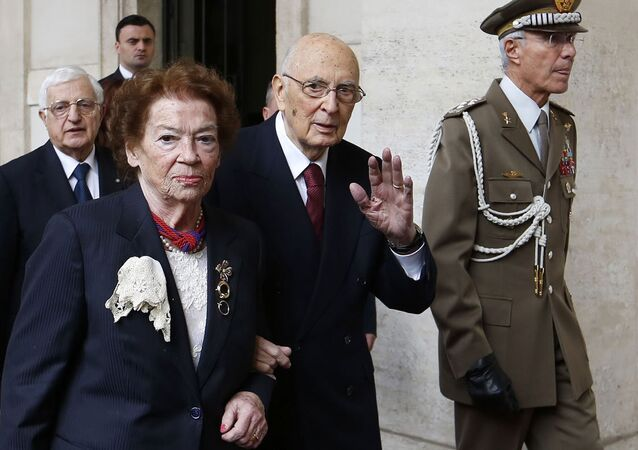 İtalya Cumhurbaşkanı Giorgio Napolitano