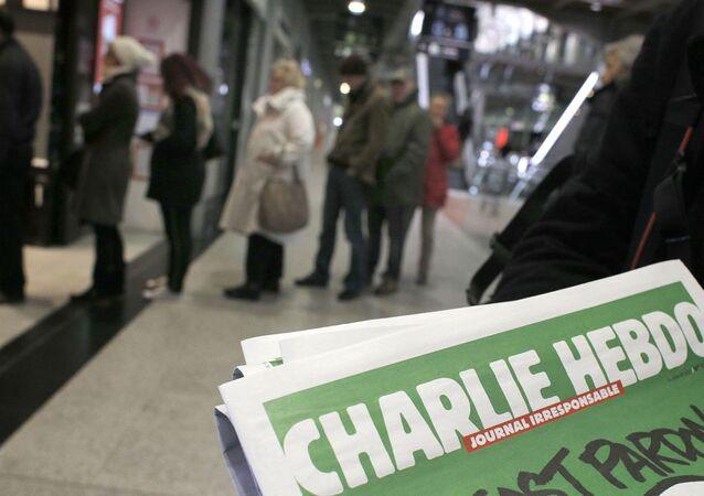 Charlie Hebdo'nun kapağı