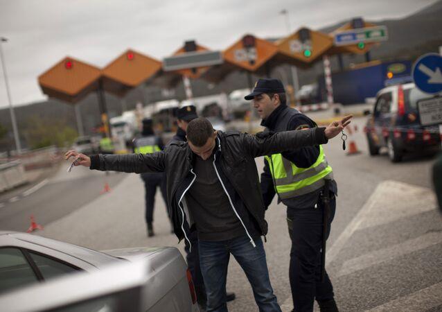 İspanya Fransa sınırı La Jonquera