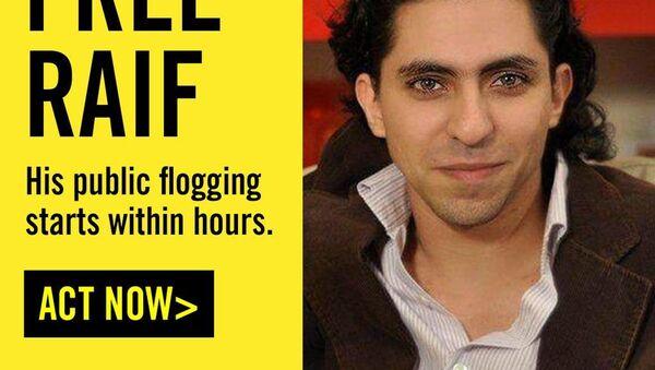 Suudi Arabistanlı blog yazarı Raif Bedevi - Sputnik Türkiye