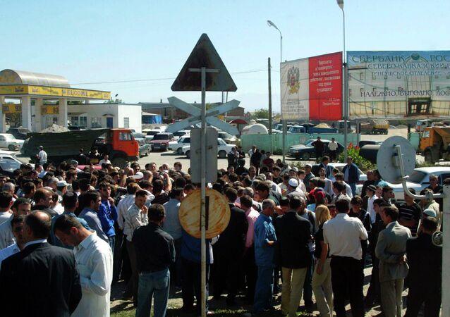 İnguşetya'da protesto