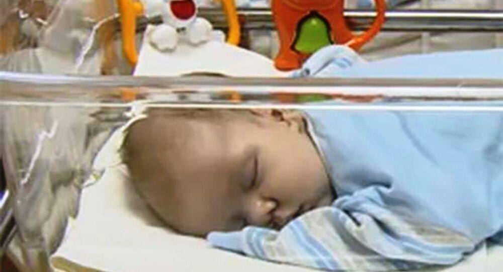 Rusya'da terk edilmiş bebek