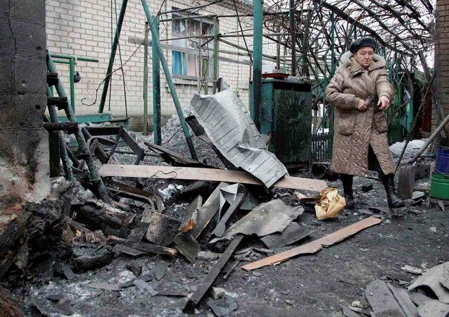 Ukrayna'da füze saldırısı