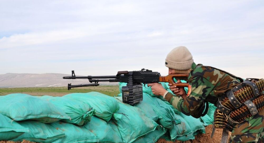 IŞİD'le çatışan peşmerge