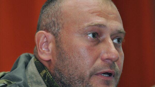 Ukrayna'da radikal örgüt Sağ Sektör'ün lideri Dmitriy Yaroş - Sputnik Türkiye