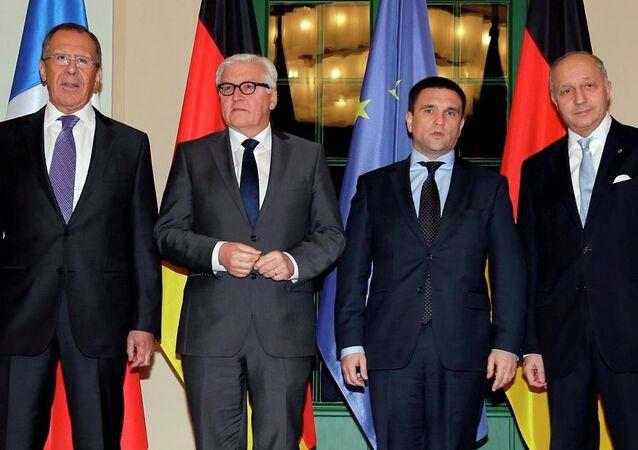Rusya, Almanya, Fransa ve Ukrayna dışişleri bakanları