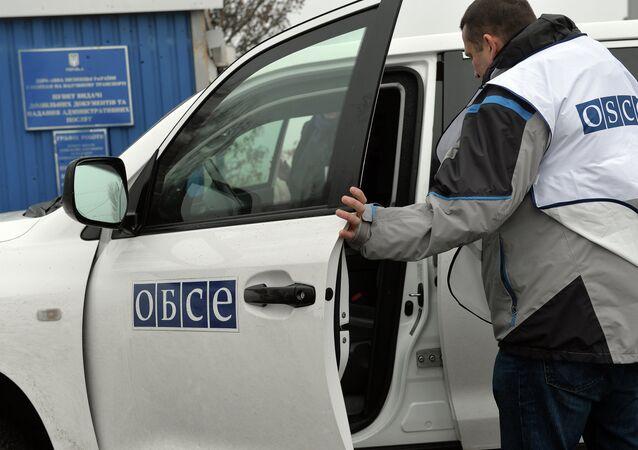 AGİT gözlemcileri Novoazovsk sınır kapısında