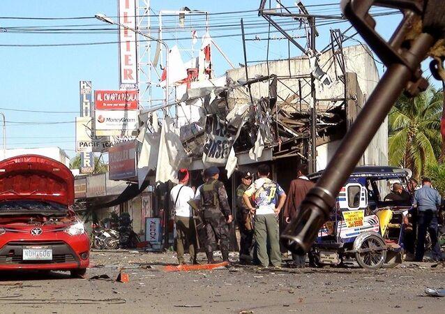 Filipinler'de patlama