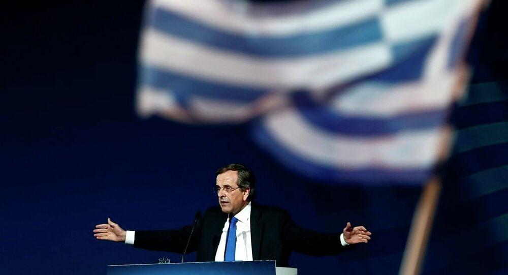 Yunanistan Başbakanı Antonis Samaras