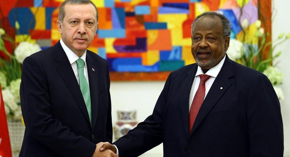 Cumhurbaşkanı Recep Tayyip Erdoğan ve Cibuti Cumhurbaşkanı İsmail Ömer Guelleh