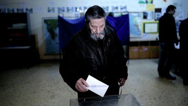 Yunanistan erken genel seçim - Sputnik Türkiye