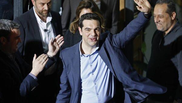 Yunanistan seçimleri - SYRIZA lideri Aleksis Tsipras - Sputnik Türkiye