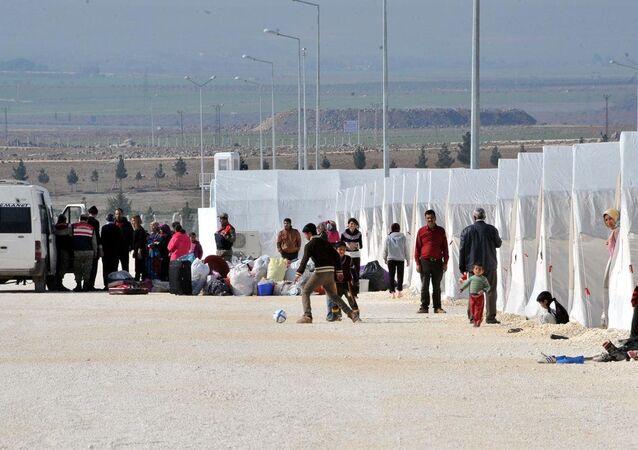 Kobani Suruç çadır kent