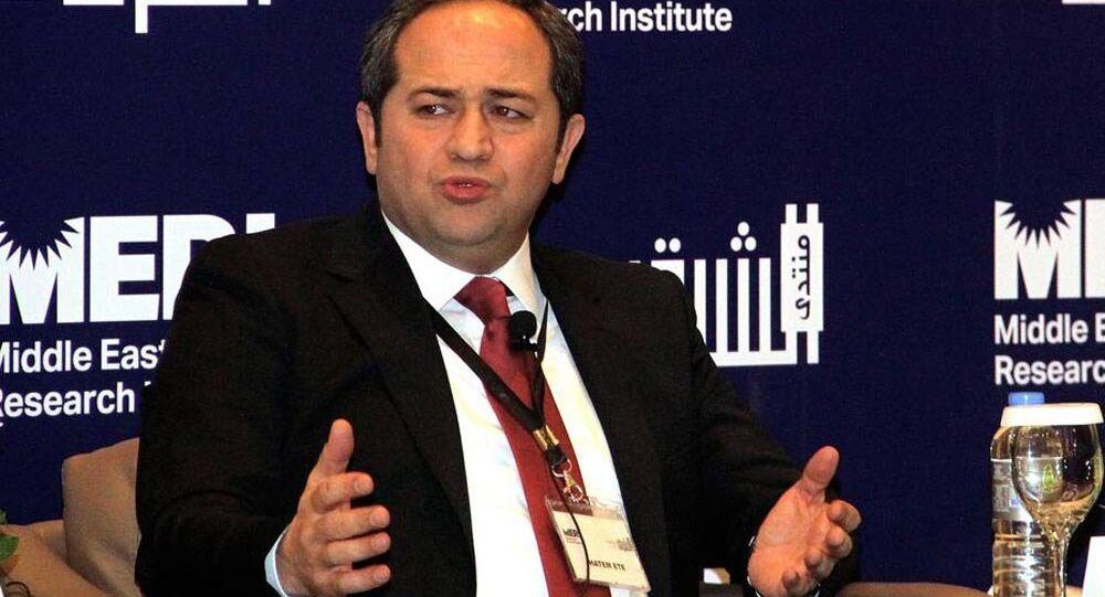Türkiye Başbakanı Ahmet Davutoğlu'nun başdanışmanı Hatem Ete