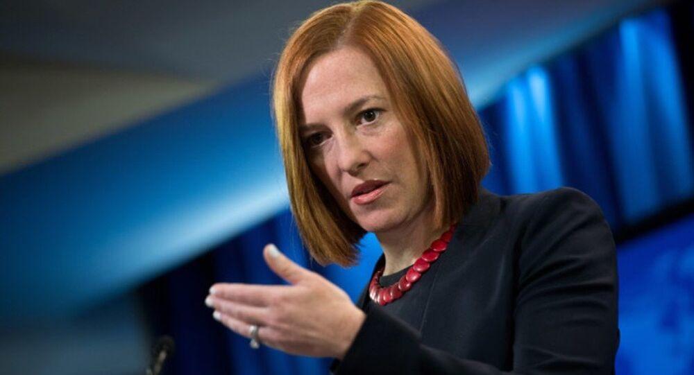ABD Dışişleri Bakanlığı Sözcüsü Jen Psaki