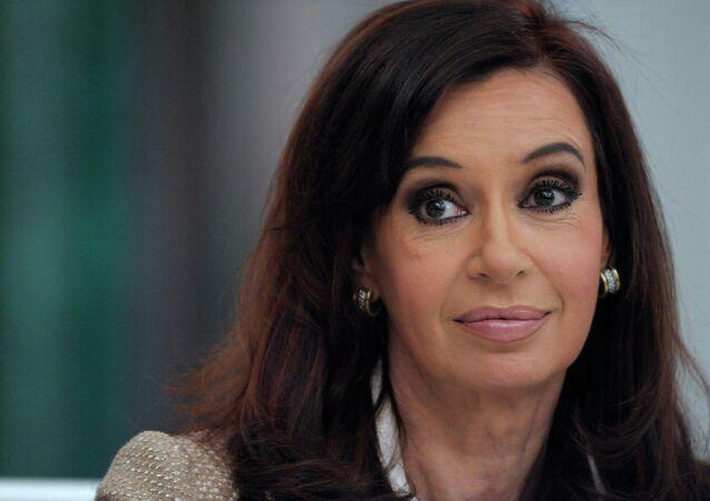 Arjantin Devlet Başkanı Cristina Fernandez de Kirchner
