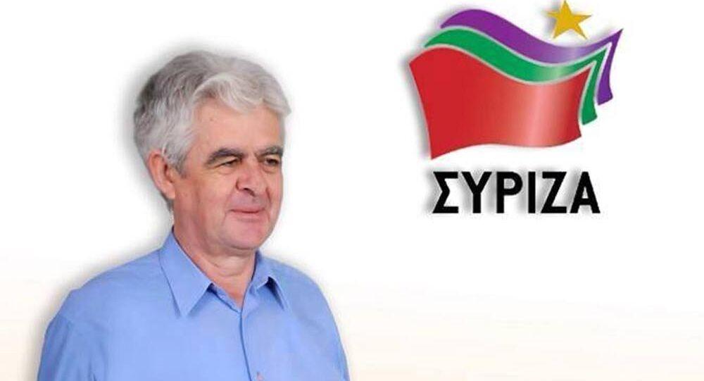 SYRIZA milletvekili Dr. Mustafa Mustafa