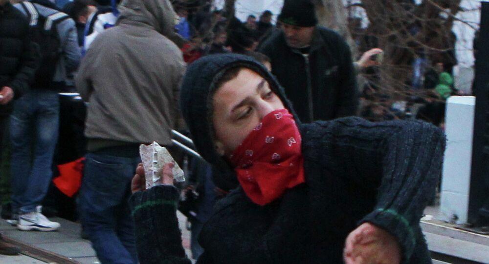 Kosova'da olaylı protesto: 110 yaralı