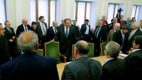 Moskova'daki Suriye krizi görüşmeleri - Sputnik Türkiye