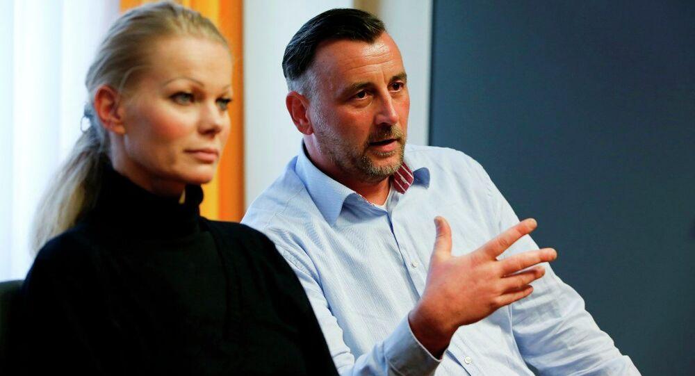 PEGIDA'nın istifa eden liderleri Kathrin Oertel ve Lutz Bachmann