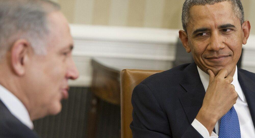 ABD Başkanı Obama- İsrail Başbakanı Netanyahu