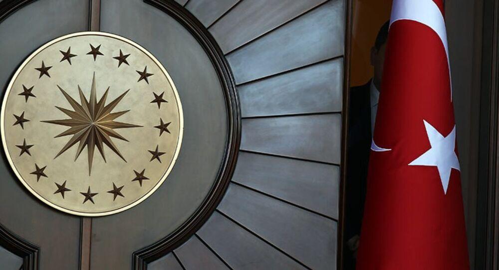 Çankaya Köşkü'ndeki Cumhurbaşkanlığı Forsu