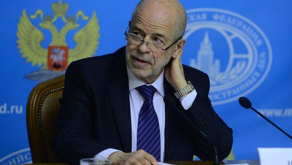 Birleşmiş Milletler Suriye Özel Temsilcisi Danışmanı ve Rusya Bilimler Akademisi Şarkiyat Enstitüsü Bilim Danışmanı Prof. Dr. Vitaliy Naumkin - Sputnik Türkiye