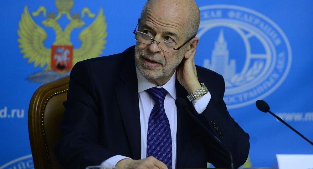 Birleşmiş Milletler Suriye Özel Temsilcisi Danışmanı ve Rusya Bilimler Akademisi Şarkiyat Enstitüsü Bilim Danışmanı Prof. Dr. Vitaliy Naumkin