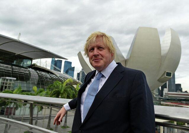 Londra Belediye Başkanı Boris Johnson