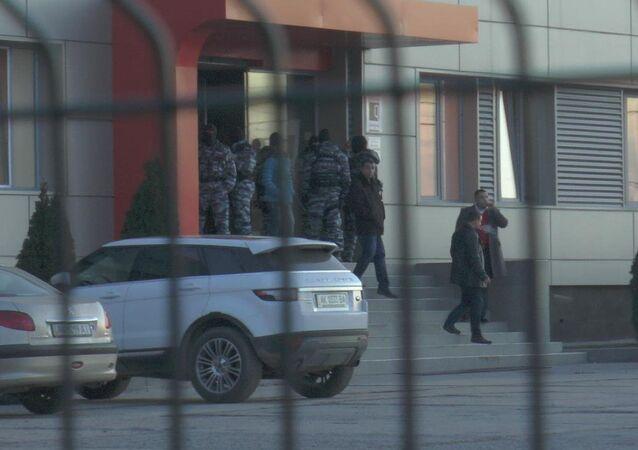 Kırım Tatar televizyonu ATR'ye baskın
