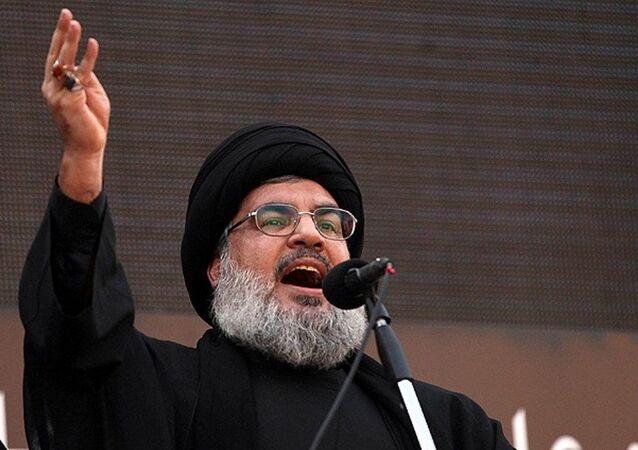 Hizbullah lideri Hasan Nasrallah