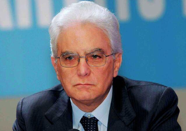 İtalya'nın yeni cumhurbaşkanı Sergio Mattarella