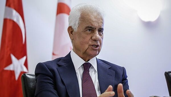 KKTC Cumhurbaşkanı Derviş Eroğlu - Sputnik Türkiye
