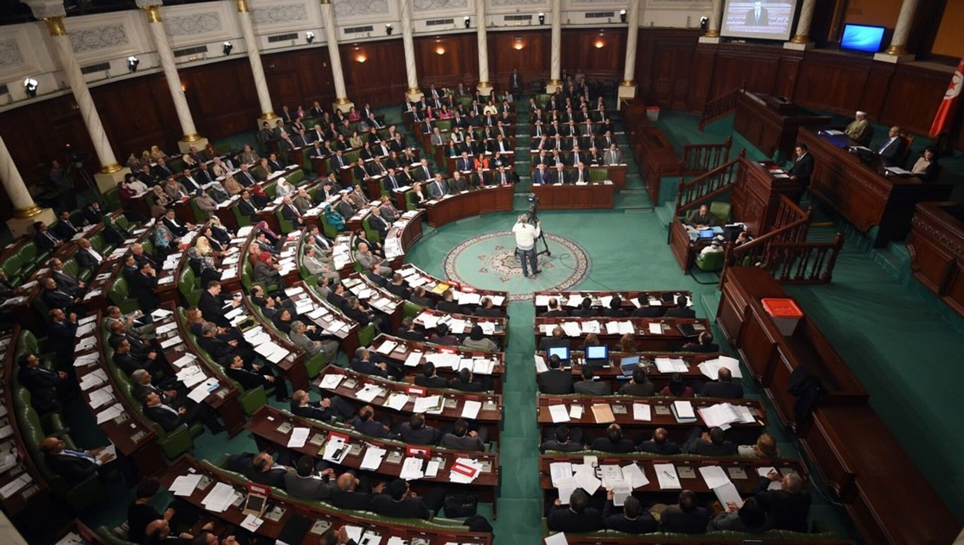 Tunus parlamentosu - Sputnik Türkiye, 1920, 26.07.2021
