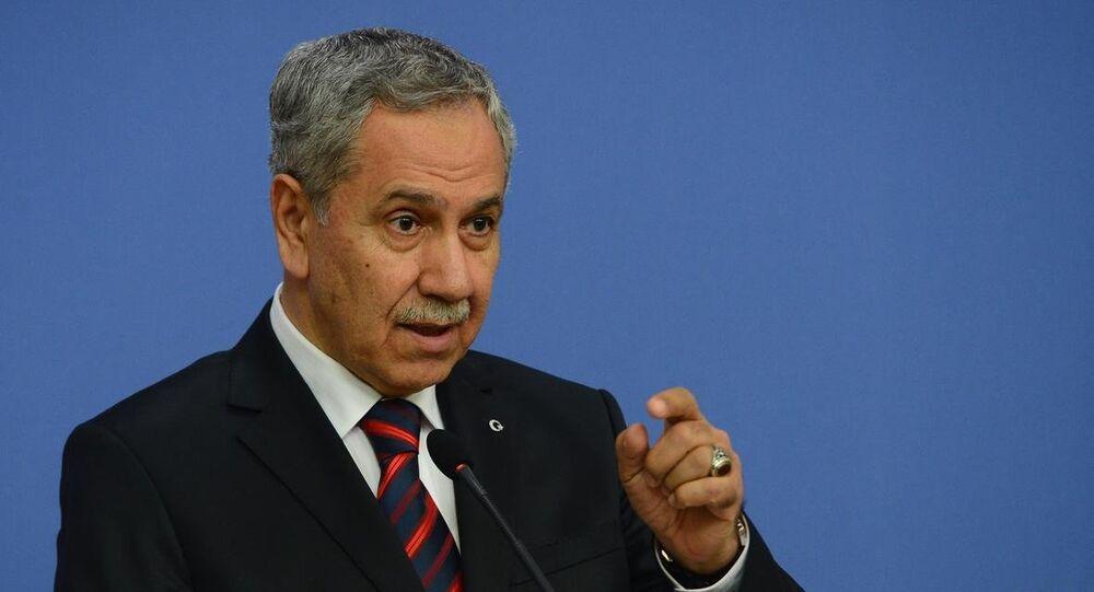 Başbakan Yardımcısı ve Hükümet Sözcüsü Bülent Arınç