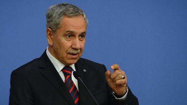 Başbakan Yardımcısı ve Hükümet Sözcüsü Bülent Arınç - Sputnik Türkiye