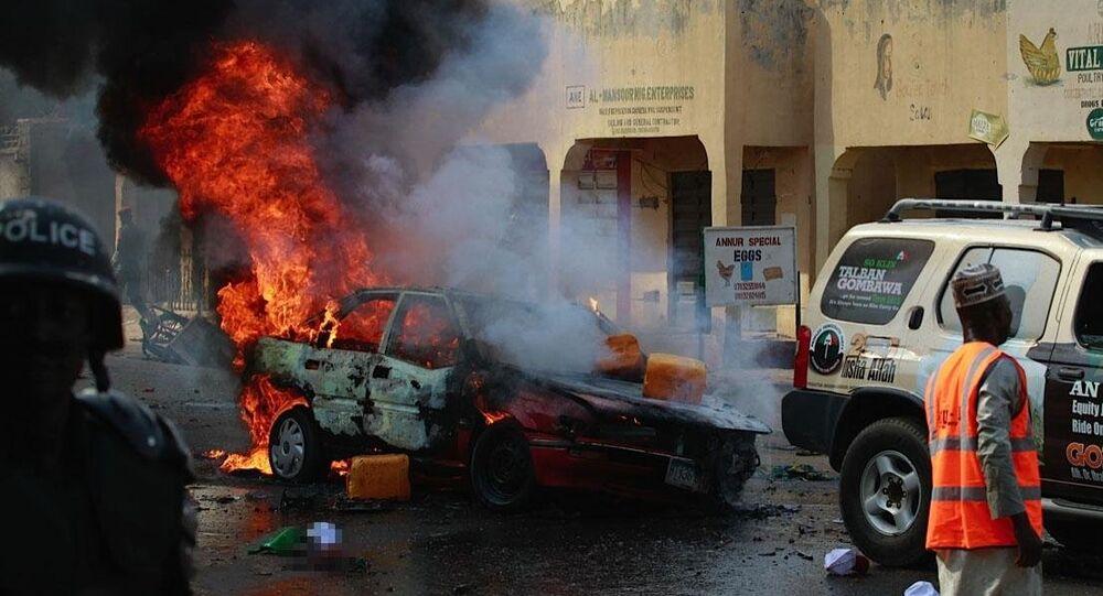Nijerya intihar saldırısı