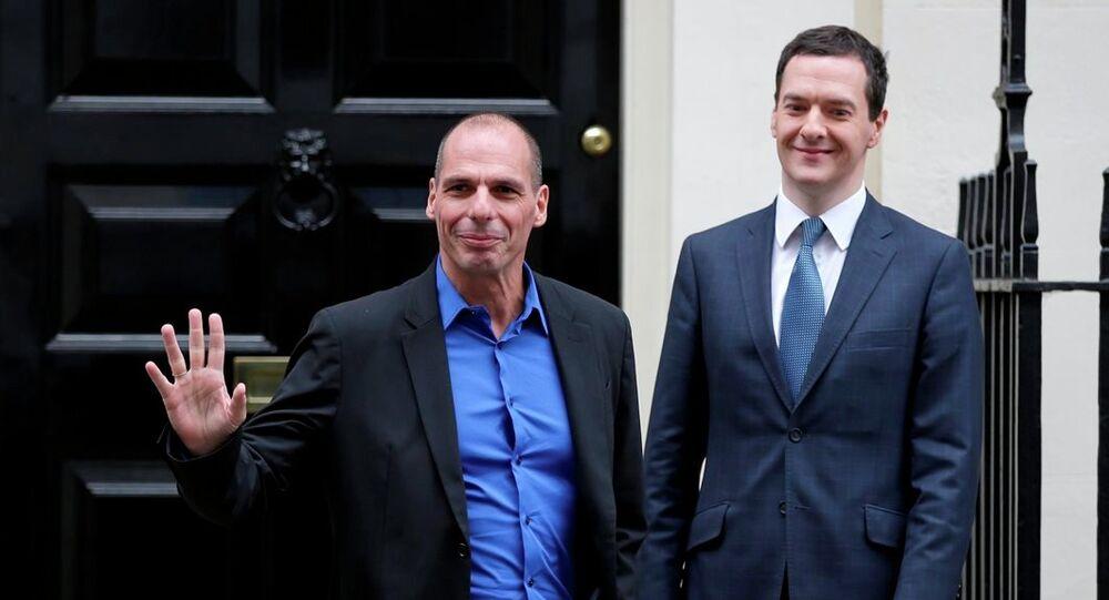 Yunanistan Maliye Bakanı Yanis Varoufakis