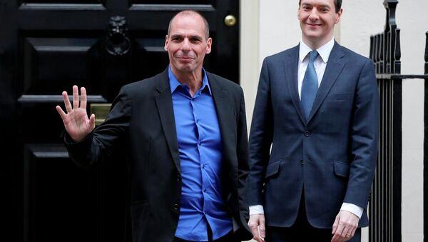 Yunanistan Maliye Bakanı Yanis Varoufakis - Sputnik Türkiye