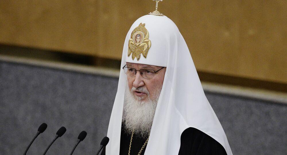 Rus Ortodoks Kilisesi lideri Patrik Kirill