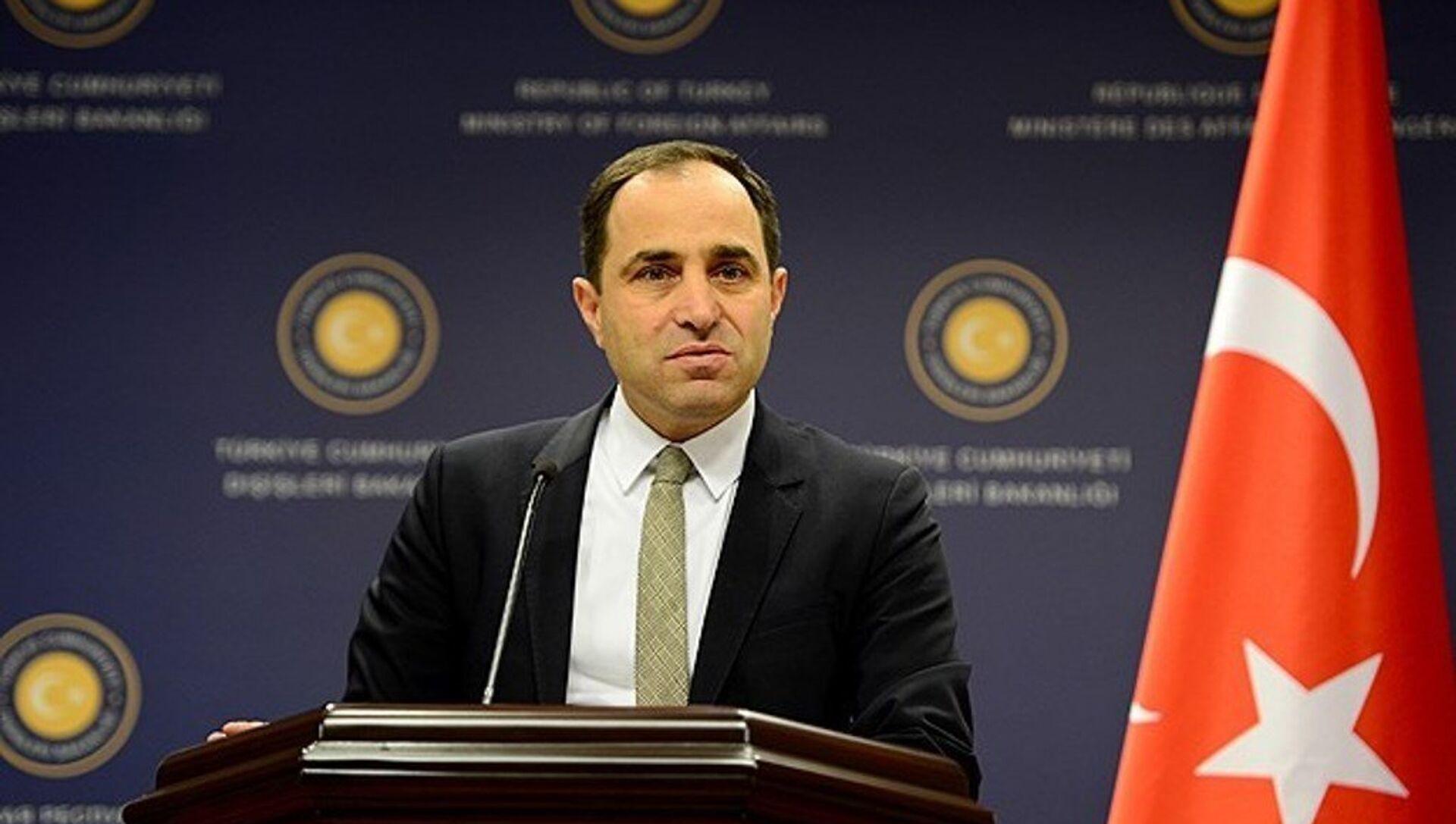 Türkiye Dışişleri Bakanlığı Sözcüsü Tanju Bilgiç - Sputnik Türkiye, 1920, 26.07.2021