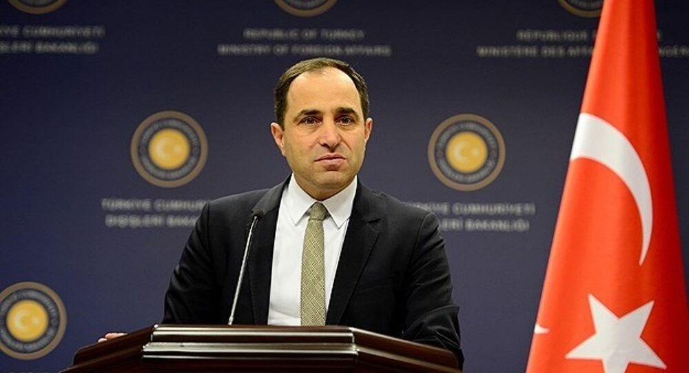 Türkiye Dışişleri Bakanlığı Sözcüsü Tanju Bilgiç