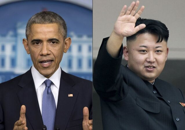 Kuzey Kore lideri Kim Jong-un, ABD Başkanı Barack Obama