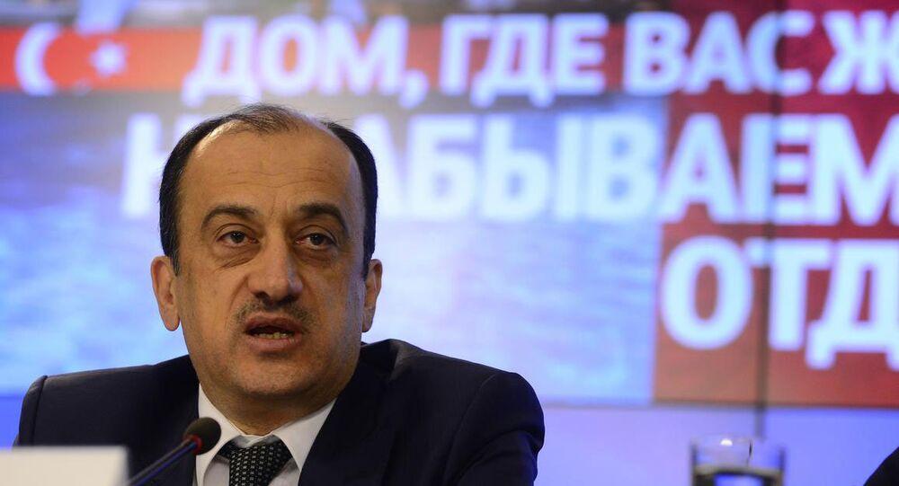 Türkiye'nin Moskova Büyükelçisi Ümit Yardım