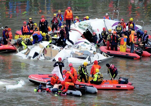 Tayvan'daki uçak kazası