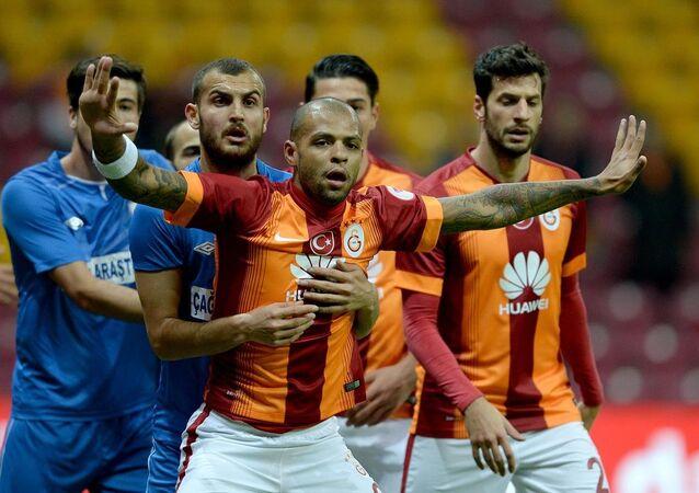 Galatasaraylı oyuncu Felipe Melo