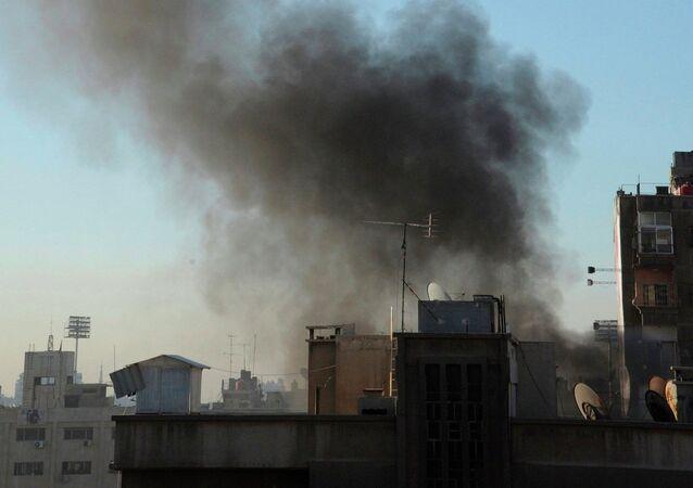 Suriye-Şam füze saldırısı