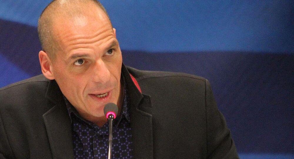 Yunanistan Maliye Bakanı Yanis Varufakis